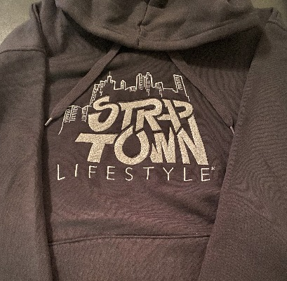 """Straptown Lifestyle"" Embroidered Hoodie"
